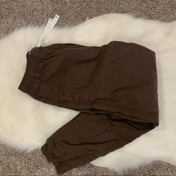 Mini Boden Other - Mini Boden Brown Drawstring Pants Size Youth 11